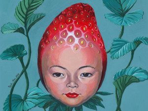 Strawberry head