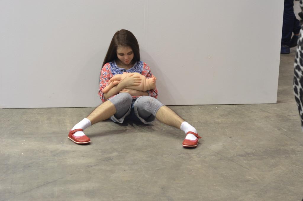"""""""Comforter"""" by Patricia Piccinini"""